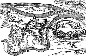 Polotsk - Polotsk in the 16th century.