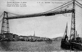 Image illustrative de l'article Pont transbordeur de Rouen