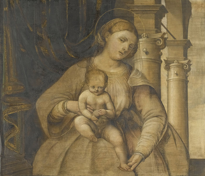 File:Pordenone - Maria met kind.jpg