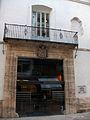 Portada i balcó del palau dels Boïl d'Arenós, València.jpg