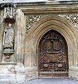Porte de l'abbaye de Bath.JPG