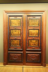Door with six panels