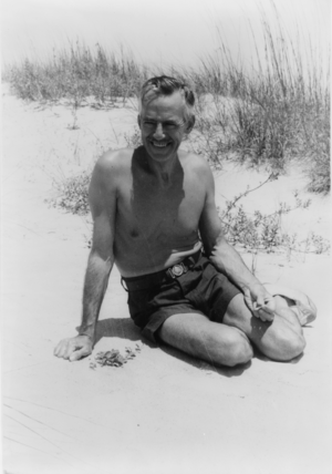 Sea Island, Georgia - Image: Portrait of Eugene O'Neill, at Sea Island Bend