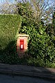 Postbox in the hedge - geograph.org.uk - 1671610.jpg