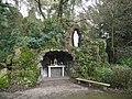 Pouillé-les-Côteaux - réplique grotte de Lourdes.JPG