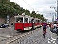 Průvod tramvají 2015, 14b - tramvaj 3063 a 1580.jpg