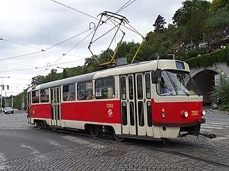 Tatra T3 - Tatra T3SUCS in Prague