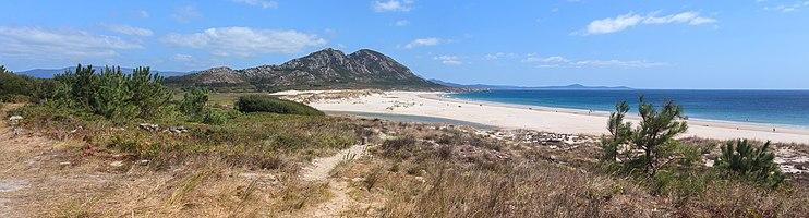 Beach of Area Maior, Louro, Muros, Galicia, (Spain).