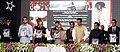 Pranab Mukherjee releasing a KC book of memoirs, 'Our Universe' at the Diamond Jubilee Celebration of the Kishinchand Chellaram College, Mumbai. The Governor of Maharashtra, Shri K. Sankaranarayanan.jpg