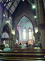 Preparing for morning worship at All Saints' Church, Nottingham.jpg