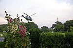 President Trump and First Lady Melania Trump Depart the South Lawn (47993820196).jpg