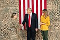 President Trump the First Lady Visit Troops in Iraq (46502778241).jpg