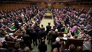 Prime Minister's Questions - The chamber is much busier than at most other times.