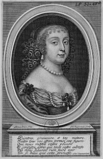 Print of Anne Marie Martinozzi, Princess of Conti by Nicolas Regnesson after the Beaubrun brothers.jpg