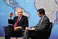Professor Joseph Nye and Dr Robin Niblett - Chatham House 2013.jpg