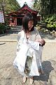Proud Mother and Baby blessed at Kusaga Shrine, Nara (7115818463).jpg