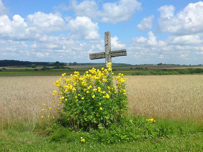 File:Przydrożny krzyż - panoramio (3).jpg