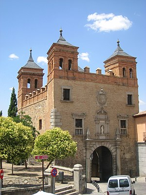 Puerta del Cambrón - General view of the gate, internal side