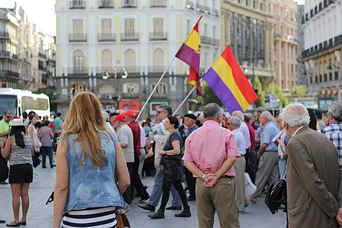 Puerta del Sol Franco Protest May 15 2014 18.JPG