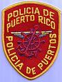Puerto Rico - policia - police patch 01.jpg