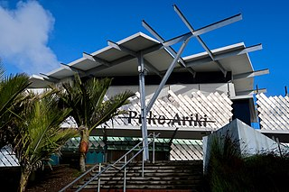 Puke Ariki Museum, Public library in New Plymouth