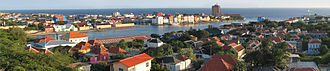 Dutch Caribbean - Willemstad, the capital of Curaçao and the largest city in the Dutch Caribbean
