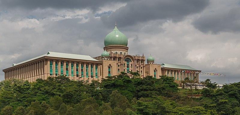 The Perdana Putra Building in Putrajaya, Malaysia