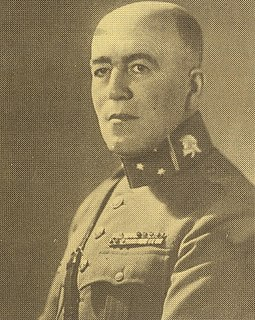 P. W. Scharroo Dutch army commander