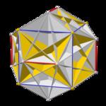 Pyritohedral great icosahedron core.png