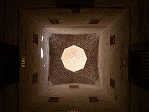 Citadel of Qaitbay - Ceiling in Qaitbay Citadel, Alexandria
