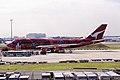 Qantas Boeing 747-438 (VH-OJB 746 24373) (10361657946).jpg