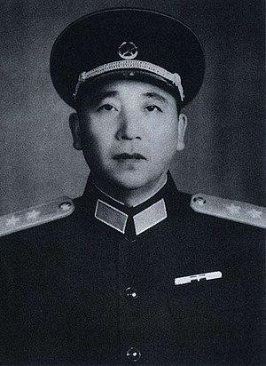 Qin Jiwei - Qin Jiwei in 1955