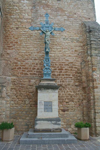 Quarante (Hérault) - croix (près de l'église)