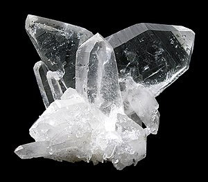 Crystal twinning - Quartz - Japan twin
