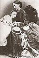 Queen Olga of Württemberg with her foster daughter Vera.jpg