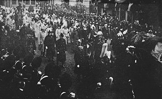 Funeral of Queen Victoria - Queen Victoria's funeral procession