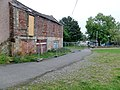Queensberry Arms Inn, Sanquhar - stables and cobbled courtyard.jpg