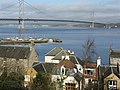Queensferry houses and harbour - geograph.org.uk - 1191701.jpg