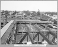 Queensland State Archives 3474 South approach completion of pour of concrete roadway slab with rickshaw runway and formwork in foreground Brisbane 17 June 1937.png