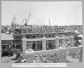 Queensland State Archives 3903 Reinforced concrete girder construction and timbering and formwork in place for section 15 18 Brisbane 13 November 1938.png