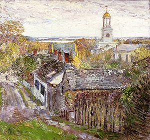Quincy, Massachusetts - Quincy, Massachusetts, oil on canvas, Childe Hassam, 1892