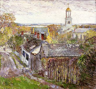 Quincy, Massachusetts - Quincy, Massachusetts, oil on canvas, Childe Hassam, 1892