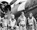 RAF Deenethorpe - Crew of 401st Bombardment Group B-17F 42-31662 Fancy Nancy IV.jpg