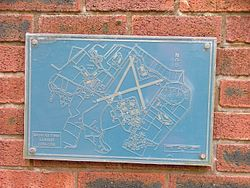 Photo of Royal Air Force Lichfield blue plaque