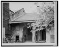 REAR (SOUTHEAST) ELEVATION - 931 Saint Philip Street (House), New Orleans, Orleans Parish, LA HABS LA,36-NEWOR,72-1.tif