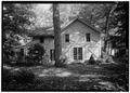 REAR ELEVATION - Lewis Miller Cottage, Chautauqua Institution, Chautauqua, Chautauqua County, NY HABS NY,7-CHAUT,1A-3.tif