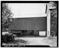 REAR VIEW OF BARN ADDITION - Stone Barn, State Route 113, Doylestown, Bucks County, PA HABS PA,9-DOYLT.V,6A-4.tif