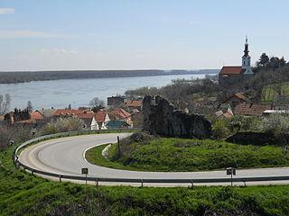Stari Slankamen Village in Vojvodina, Serbia
