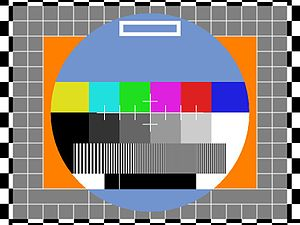 This is the Colour Testcard of RTVE(Radiotelev...