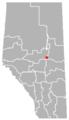 Radway, Alberta Location.png